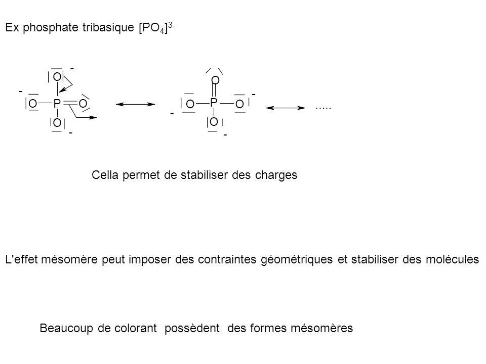 Ex phosphate tribasique [PO4]3-